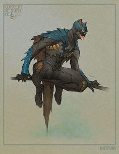 Batman and Wonder Woman and Young Wonder Woman concept art by Kenneth Rocafort Batman Poster, Batman Vs Superman, Batman Art, Batman Robin, Spiderman, Batman Concept Art, Batman Arkham, Comic Book Characters, Comic Character