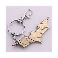 Trendy Batman Alloy Keyring ($3.96) ❤ liked on Polyvore featuring accessories, batman and random color