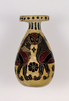 - Alabastro corintio . Grecia . 640-625  a.C. /tcc/