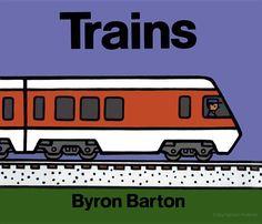 Trains by Byron Barton
