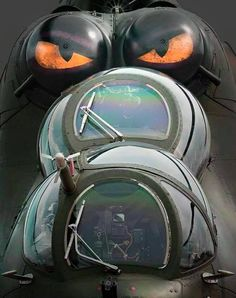 The eye of the tiger... Mil Mi 24