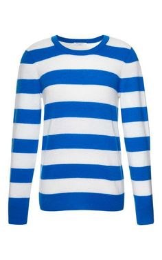 Shane Striped Cashmere Sweater by Equipment Now Available on Moda Operandi