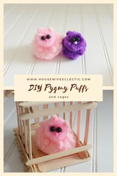 DIY Pygmy Puffs - Housewife Eclectic