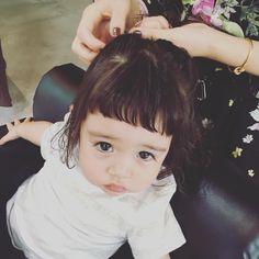 ・ ・ 髪をあげる時は気分をあげたい時♡ ・ #私の小さなお客様 #SCREEN #sisterbyscreen