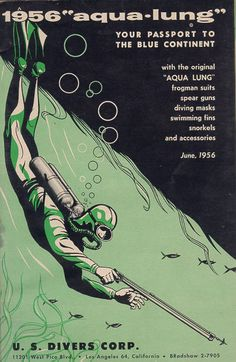 1956 US Divers Equipment Catalog.
