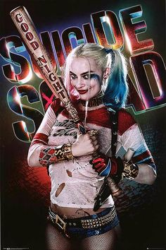 Suicide Squad Posters Harley Quinn...