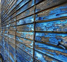 Wood with the blues