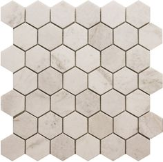 Modamo 2-Inch x 2-Inch Hexagon White Marble Polished Mosaic Tile (5 Pack) | The Home Depot Canada