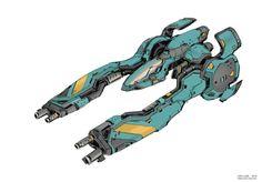 Spaceship Art, Spaceship Design, Concept Ships, Concept Art, Nave Star Wars, Gato Anime, Starship Concept, Sci Fi Spaceships, Sci Fi Ships
