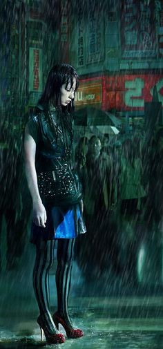 Mika Nakashima in Resident Evil: Retribution