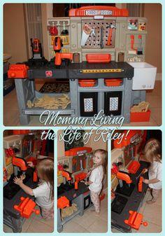 Step2 Home Depot Master Carpenter's Workshop