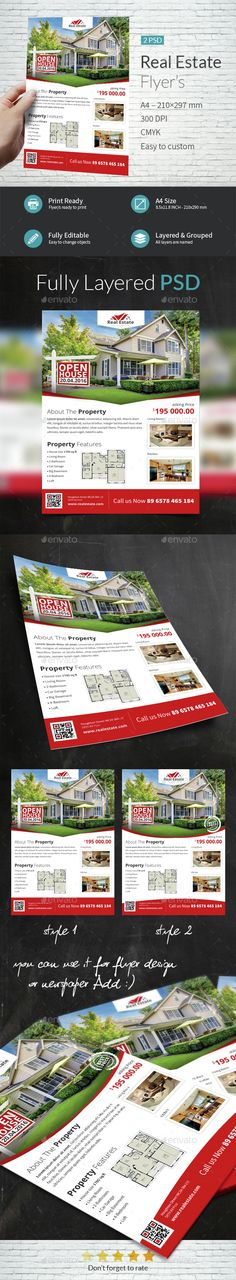 Real Estate Company Flyer Template PSD. Download here: http://graphicriver.net/item/real-estate-company-flyer-templates/15358806?ref=ksioks