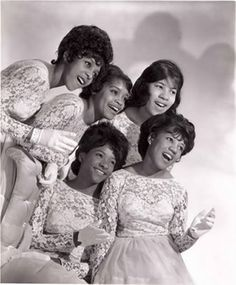 """The Crystals    The Crystals, a singing group from the New York City area, was one of the most successful girl groups of the early 1960s, best remembered for the hit singles """"He's A Rebel"""", """"Da Doo Ron Ron"""" and """"Then He Kissed Me""""."""