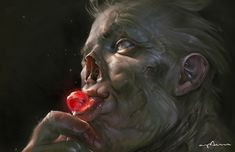 Lollipop Ghoul, Sabbas Apterus on ArtStation at https://www.artstation.com/artwork/1bbPe