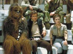 Chewbacca, Princesse Leia & Han Solo, Star Wars, épisode IV