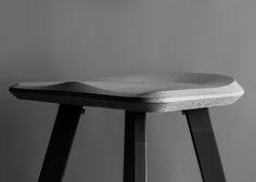 Concrete Bar Stool by Bentu Design ~ seandavidson
