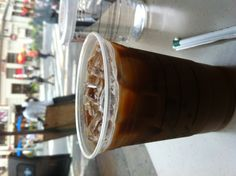 Union Square Iced latte.