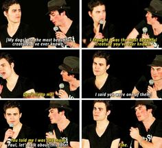 Ian and Paul:) haha love them