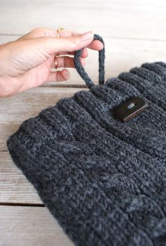 sweater laptop sleeve.
