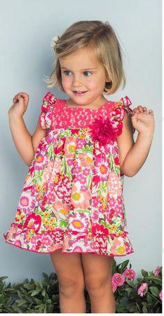 Ropa para niñas para primavera verano 2015 con Pilar Batanero http://bit.ly/1AJ9Qvk