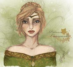 Princess Cassandra of Araluen (colored) by AquariusMj212 on DeviantArt