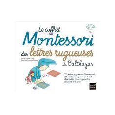 Balthazarle Coffret Montessori Des Lettres Rugueuses De Balthazar Lettres Rugueuses Des Lettres Lettres Cursives
