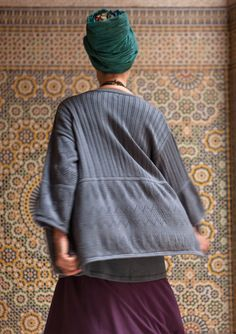 Pointelle cardigan in eco-cotton – Shades of the desert in the Sahara – GUDRUN SJÖDÉN – Webshop, mail order and boutiques | Colourful clothes and home textiles in natural materials.