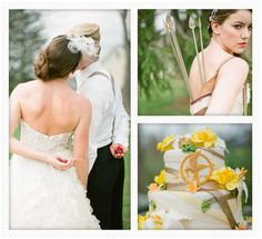 Hunger Games wedding....Liam would loves this, since he is a HUGE fan of the books.