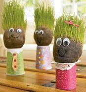 Love this fun garden craft for Spring!