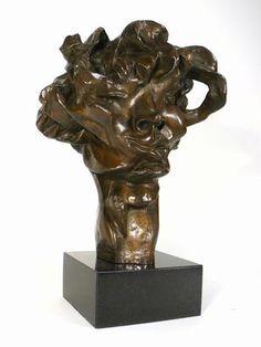Otto Gutfreund, Hlava Viki, bronz