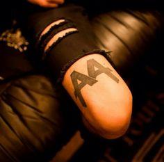 Cameron Liddell's Asking Alexandria Tattoo
