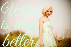 Madilyn Bailey quote. Edit by @toujours152233