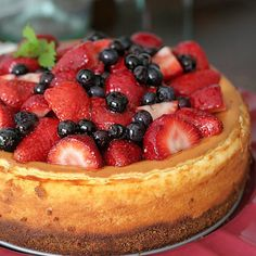 With a Grateful Prayer and a Thankful Heart: Mixed Berry Cheesecake with Barefoot Bloggers