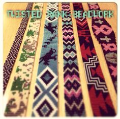 Be sure to check out Twisted Rank Beadwork on Facebook!