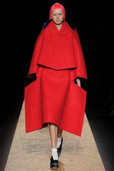 Child/actor/Jess look (amazing bright coat) // Comme des Garçone...