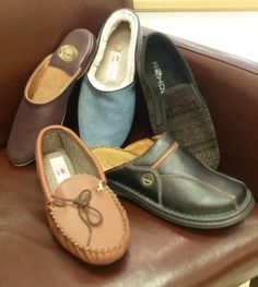 Slippers - the classic gift every man needs. We've got a range of gents slippers from Rohde, Seibel and Draper of Glastonbury, available from just £35 a pair at Luck of Louth in Lincolnshire.