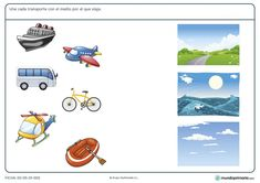 Free Preschool, Preschool Worksheets, Ride On Toys, Kids Learning Activities, Animals And Pets, Montessori, Vocabulary, Transportation, Kindergarten