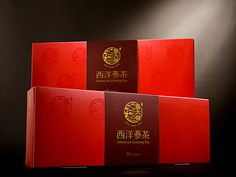 Package of Ginseng Tea on Behance