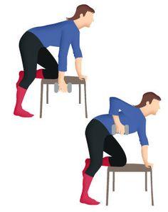 Pour le muscle dorsal