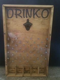Drinko Plinko Bottle Opener Spiel
