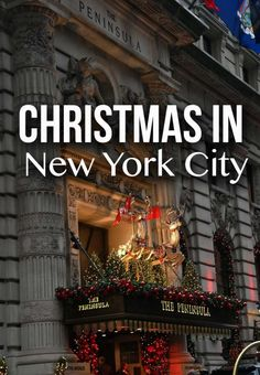 I how I want to visit NYC during Christmas time