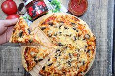 Najlepsza domowa pizza - wpis - Słodkie okruszki - piecz i gotuj z sercem - LifeStylowo.pl Mozzarella, Vegetable Pizza, Lose Weight, Keto, Dinner, Vegetables, Food, Eat Lunch, Dining