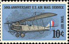 50th Anniv. U. S. Air Mail Service