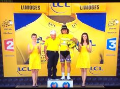 And the winner of the yellow jersey stage 4 - Peter Sagan