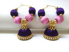 Silk bead Bali Jumkka By Ovis Creations