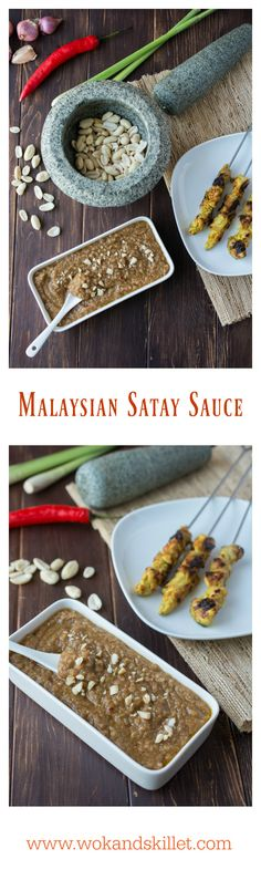 Malaysian Satay Sauce is an incredibly flavorful spicy peanut sauce that pairs with Malaysian style satay. Check out my Malaysian Satay recipes here: Malaysian Chicken Satay Chicken Satay Burger Satay has been one of my favorite foods ever since I can remember. I had shared my Malaysian Chicken Satay and Chicken Satay Burger recipes here on...Read More »