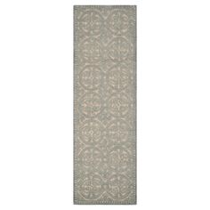 Austin Runner - Dusty Blue / Gray ( 2' 6 X 10' ) - Safavieh