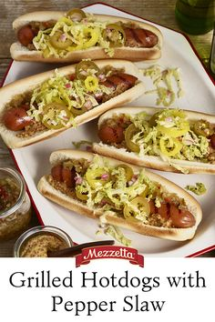 We updated this summer classic by smothering it in a tangy slaw. Our grilled Hotdogs with Pepper Slaw will become the new standard your next cookout. Learn how!