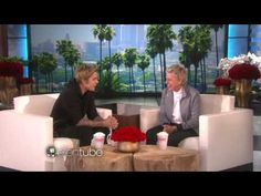 Ellen scares Justin Bieber on The Ellen show 2015 Feb19 - YouTube