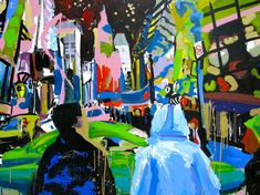 Tom Christopher, Wolfman in Times Square on ArtStack #tom-christopher #art